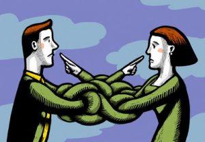 השלכה בין בני זוג